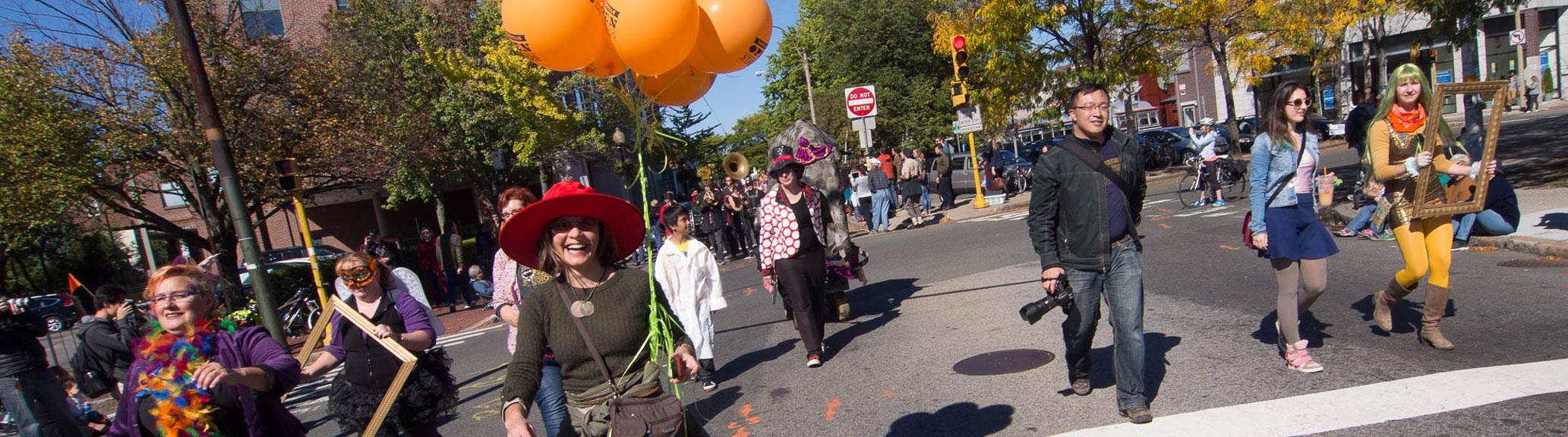 SOS at the honk parade